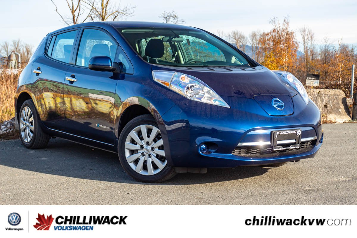 Pre-Owned 2016 Nissan LEAF S FULLY ELECTRIC, LOW KM, GREAT CONDITION!