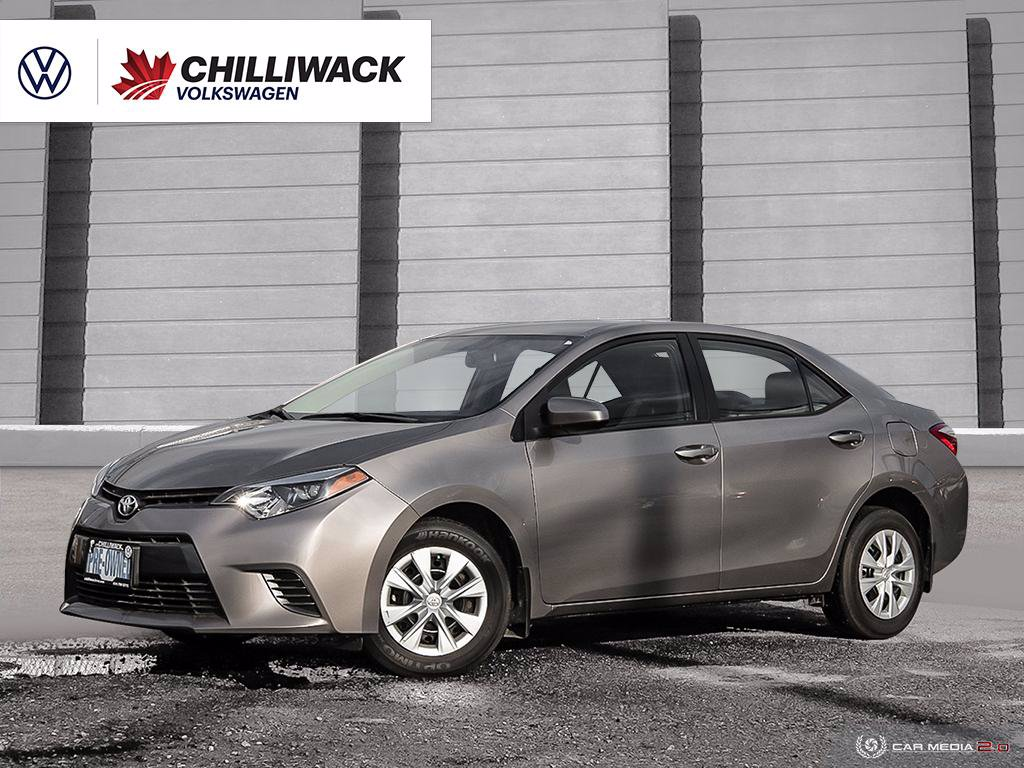 Pre-Owned 2016 Toyota Corolla LE ECO 1.8L | GREAT PRICE, AMAZING CONDITION! | B.C. CAR!