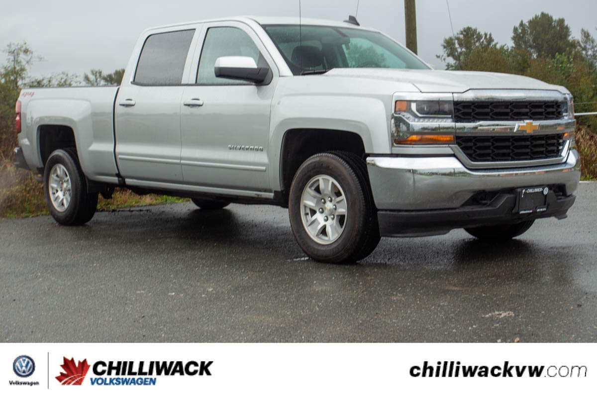 Pre-Owned 2018 Chevrolet Silverado 1500 LT LOW KM, NO ACCIDENTS, B.C. TRUCK!