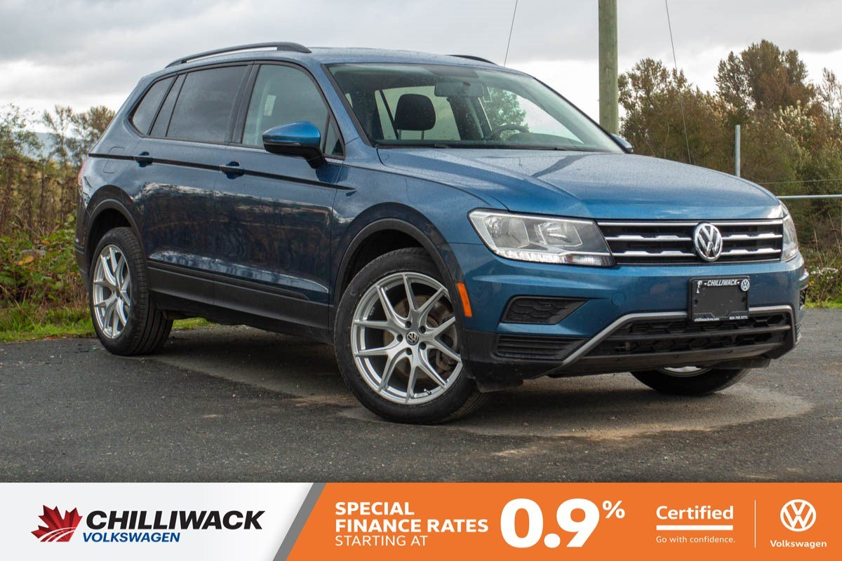 Certified Pre-Owned 2019 Volkswagen Tiguan Trendline ONE OWNER, NO ACCIDENTS, B.C. CAR!