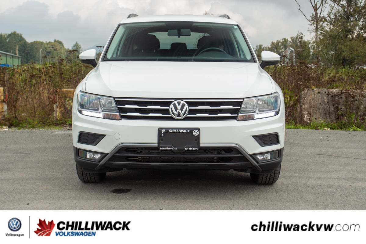 Pre-Owned 2018 Volkswagen Tiguan Trendline ONE OWNER, NO ACCIDENTS, B.C. CAR!