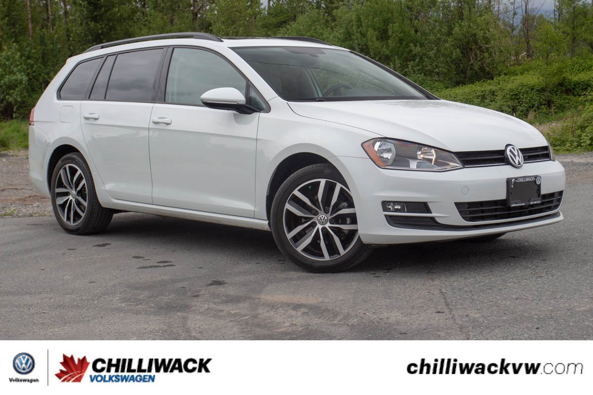 Pre Owned 2017 Volkswagen Golf Sportwagen Comfortline One Owner No Accidents Local Car