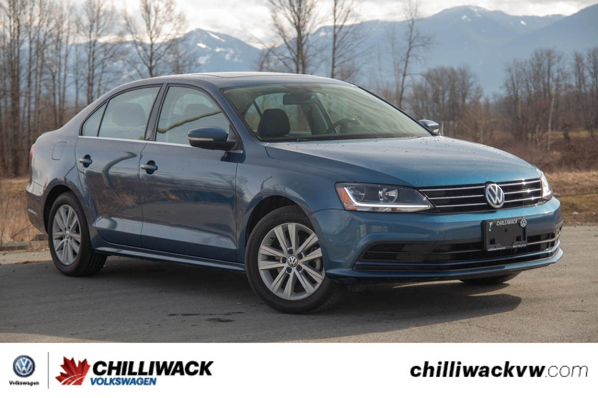 Certified Pre-Owned 2017 Volkswagen Jetta Sedan Wolfsburg Edition 1 OWNER, NO ACCIDENTS, BC CAR!