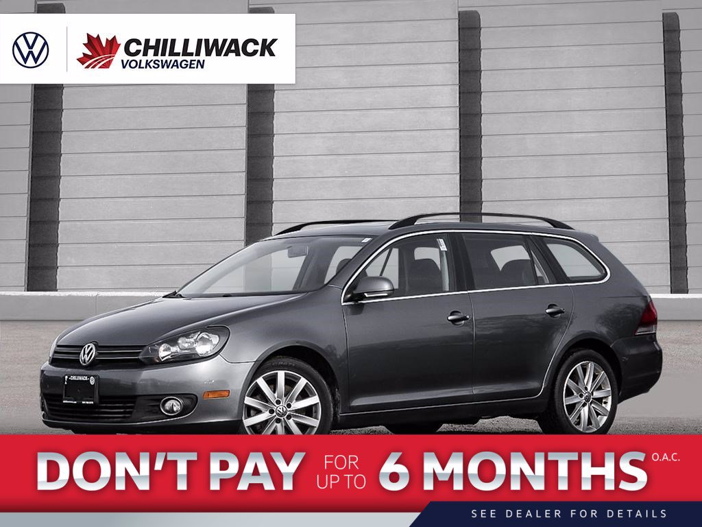 Certified Pre-Owned 2014 Volkswagen Golf SportWagen 2.0L HIGHLINE | RARE, TDI, SAVE ON GAS | NAVIGATION PACKAGE | VOLKSWAGEN CERTIFIED