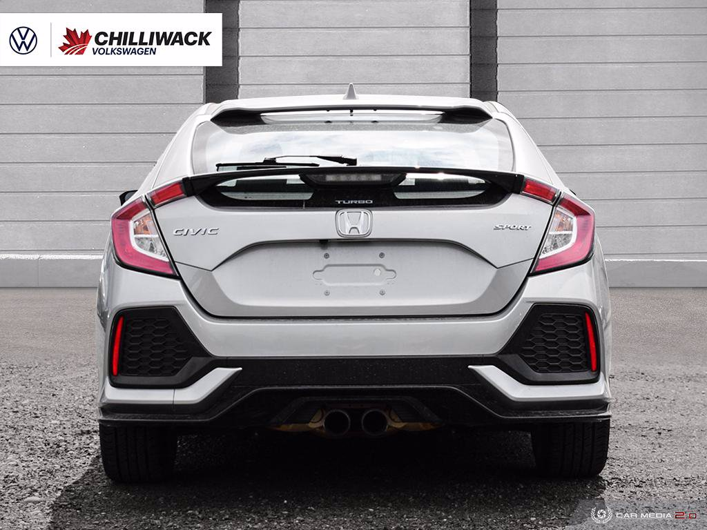 Pre-Owned 2018 Honda Civic Hatchback Sport | *NO ACCIDENTS, LOW KM'S, ONE OWNER!* | ADAPT CRUISE CONTROL, LANE DEPARTURE & MORE!