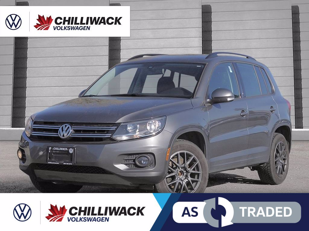 Pre-Owned 2016 Volkswagen Tiguan 2.0T SPECIAL EDITION 4MOTION | EXCELLENT FINANCE TERMS AVAILABLE (OAC)