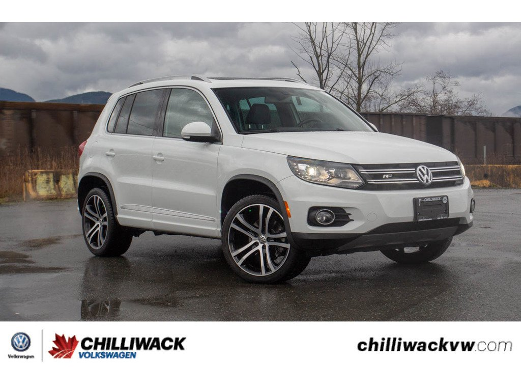 Pre-Owned 2017 Volkswagen Tiguan ONE OWNER, BC CAR, NO ACCIDENTS