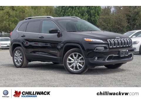 Pre-Owned 2017 Jeep Cherokee Limited / No Accidents,B.C car,Super clean