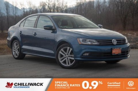 Certified Pre-Owned 2016 Volkswagen Jetta Sedan Highline NO ACCIDENTS, LOCAL, SUPER LOW KM!