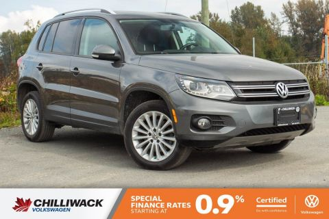 Certified Pre-Owned 2014 Volkswagen Tiguan Comfortline GREAT CONDITION, NO ACCIDENTS, LOCAL CAR!